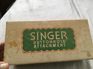 Antique singer sewing feet