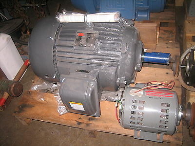 Dayton 15hp 3 Phase Motor Inverter Rated 2mxv6 Frame 254t
