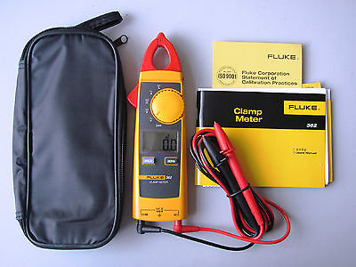 Brand New Fluke362 F362 Detahable Jaw True-rms Ac Dc Clamp Meter Usa Ship