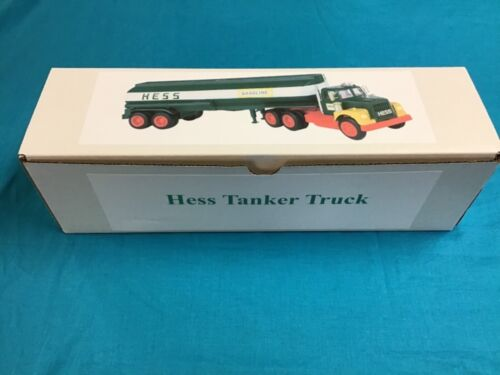 1968, 1972 and 1974 Hess Truck Box with Bottom Insert
