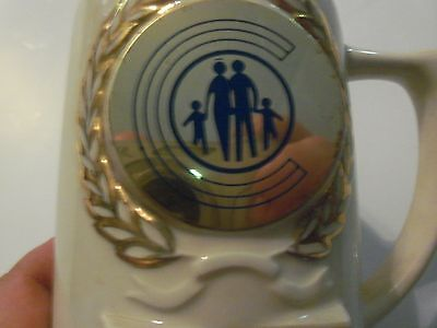 Rare Vintage American Family Life Insurance Top Recruiting Region Mug From 1974