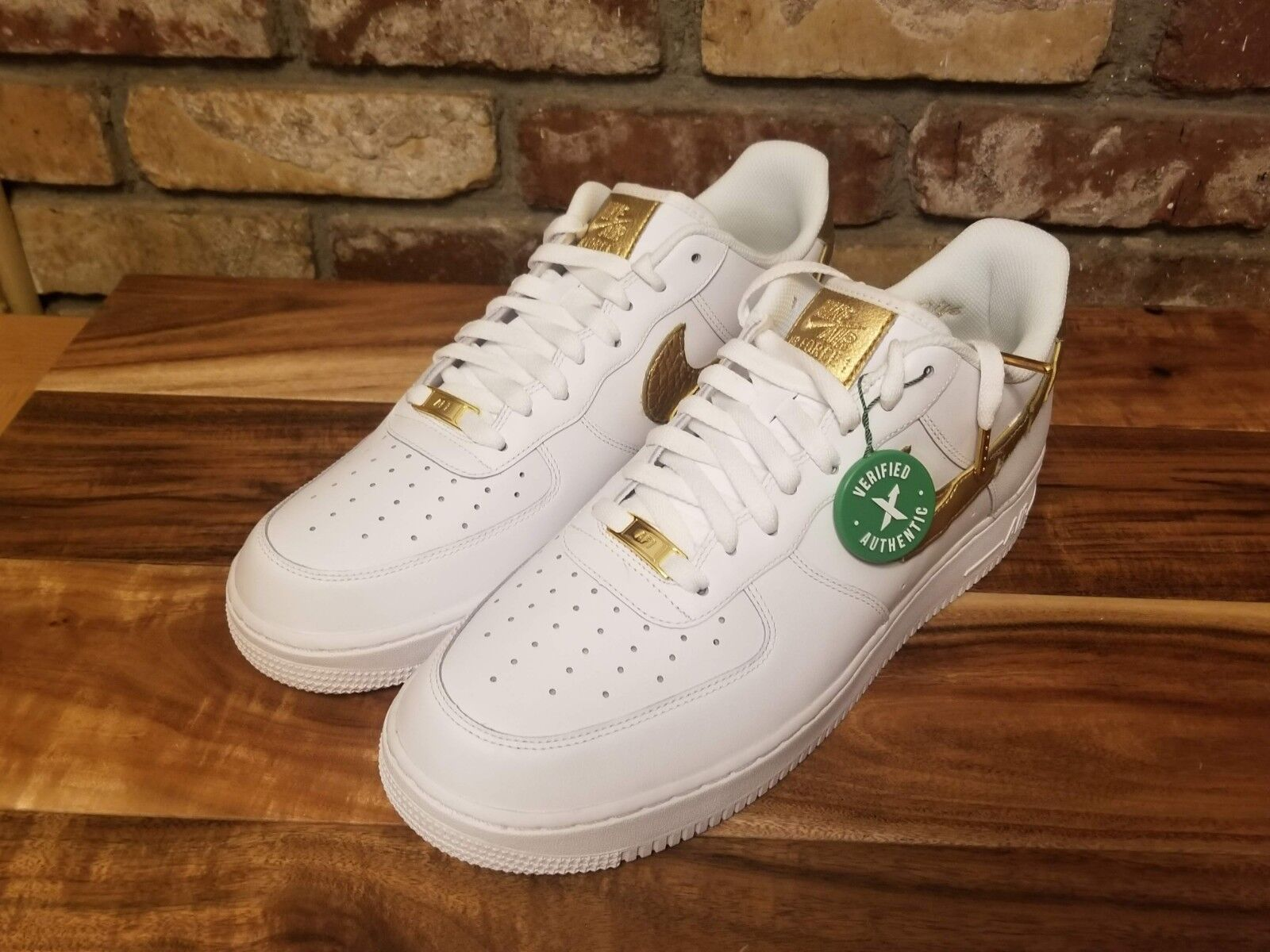 Nike Air Force 1 Low CR7 Golden Patchwork DS Men's Size 11.5