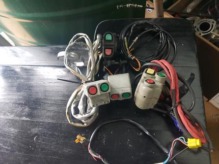 Various kawasaki starter switches 650sx 750sx x2