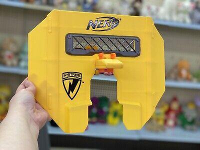Yellow Nerf N-Strike Stampede ECS Blast Shield Attachment Part Hasbro 2009