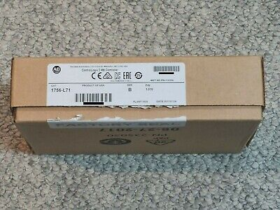 Allen Bradley 1756-l71 Controllogix Plc Processor Controller 2mb New In Box