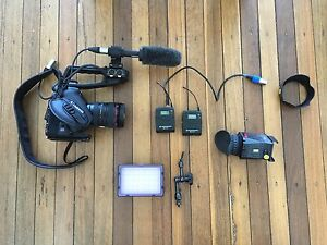 Canon EOS C100  + all essential filming gear Freshwater Manly Area Preview