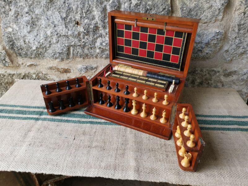 A Victorian Mahogany Games Compendium