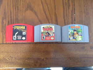 N64/SuperNintendo/N64 Games + Controllers