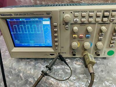 Tektronix Tds2012b 2 Channel 100mhz 1gss Digital Storage Oscilloscope Tds-2012b