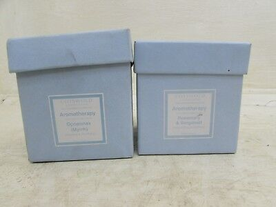 2 Cotswold Collections Aromatheropy Candles, Opoponax, Rosemary & Bergamot, (Opoponax Candle)