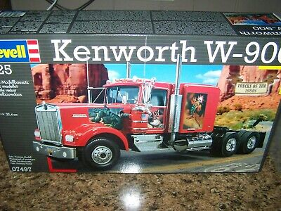 REVELL® 07497 1:25 KENWORTH W-900 EXCELLENT CONDITION 2011 ED SEALED