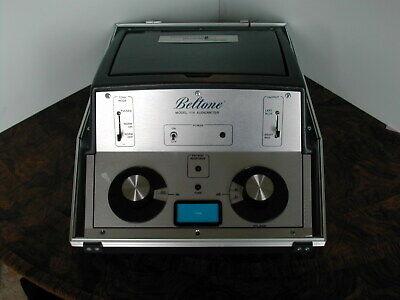 Beltone 119 Portable Audiometer Big Chrome Knobs June 2021 Calibrated