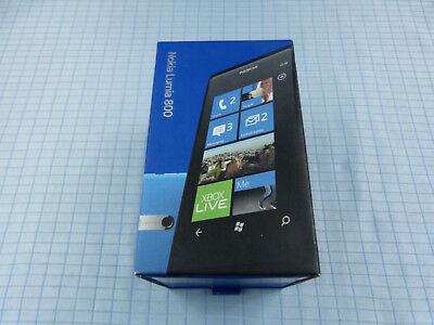 Original Nokia Lumia 800 16GB Schwarz!NEU&OVP!Unbenutzt!Ohne Simlock!RAR!#43,2 na sprzedaż  Wysyłka do Poland