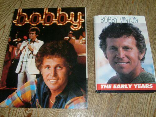 Bobby Vinton SIGNED Book 1978 + Concert Tour Program 1976 The Polish Prince