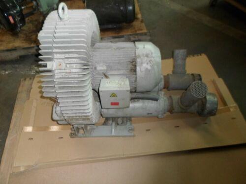 SIEMENS ELMO-G 2BH1 800-1AK02 3485 RPM 4.6 KW REGENERATIVE RING BLOWER