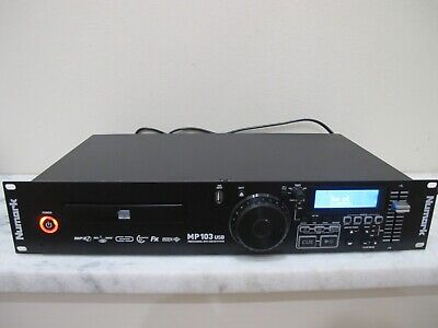 NUMARK CD, MP3, AND USB PLAYER MP103USB NEEDS REPAIR NOT WORKING