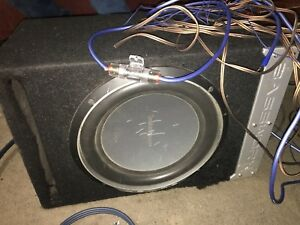 Subs and Amp with all set of wires.