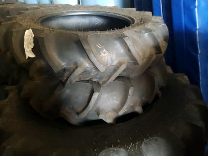 2 x new Goodyear Duratorque 11.2-24 tracror tyre