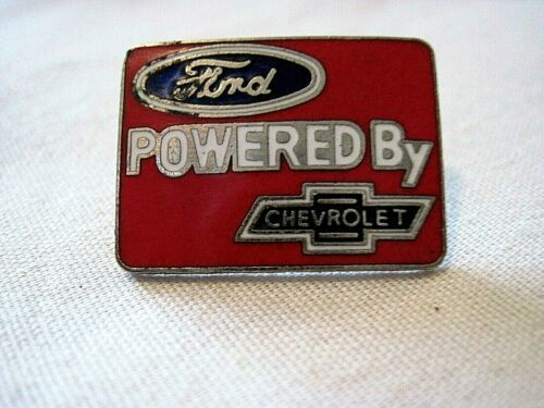 FORD POWERED BY CHEVROLET  HAT PIN,LAPEL PIN
