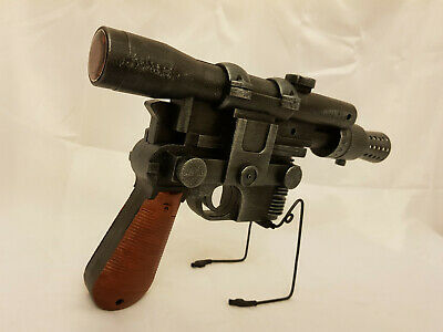 CUSTOM STAR WARS HAN SOLO DL-44 BLASTER PAINTED DL44
