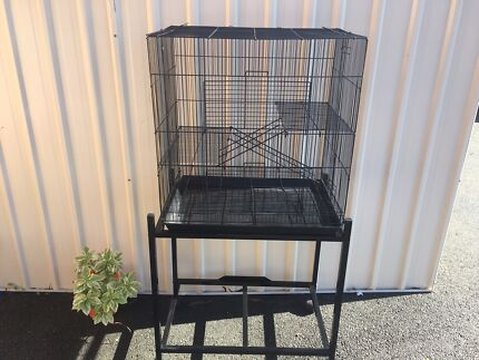 BRAND NEW 3 level Rat Cage $75 :trolley $35 eftpos avail-open SATURDAY