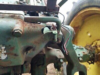 John Deere Tractor 40 420 430 440 Light Bracket And Plug  Farmerjohnsparts