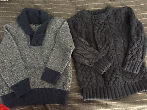 Boys sweaters 4T $10 for 2