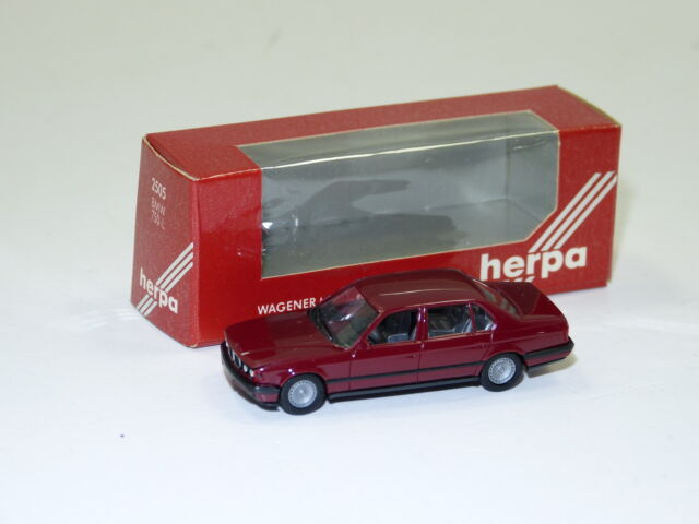 Herpa 1:87 H0  2505 BMW 750 iL weinrot High Tech OVP (E949)