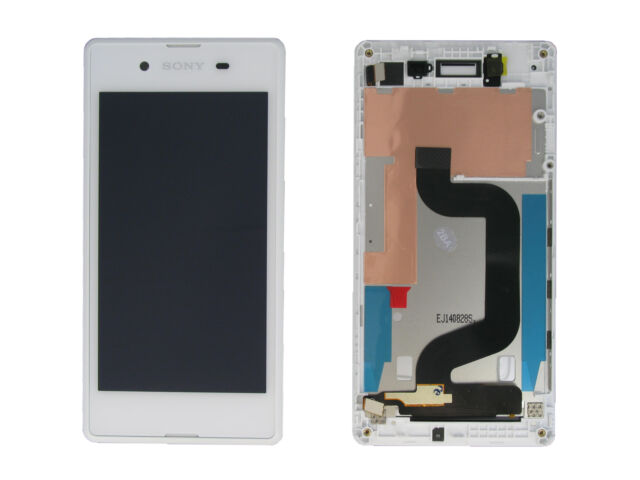 Genuine Sony Xperia E3 D2203 White LCD Screen & Digitizer with Frame - A/8CS-590