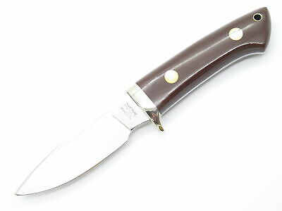 Vtg Khyber Kabar 2650 Seki Japan Loveless Style AUS-6A Fixed Blade Hunting Knife