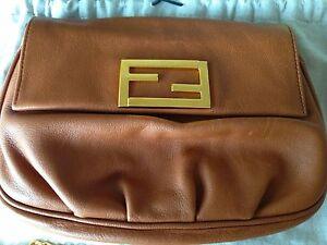 Fendi leather mini pouch / sling bag / clutch Sydney City Inner Sydney Preview