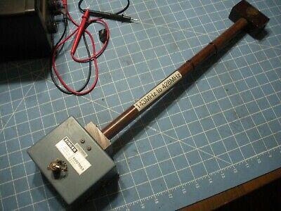 Ailtech Singer Tuned Dipole Antenna Emi Dm-105a T2 143-428mhz Field Probe