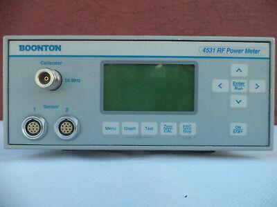 Boonton 4531 Options 1230 Dual Sensor Rf Power Meter