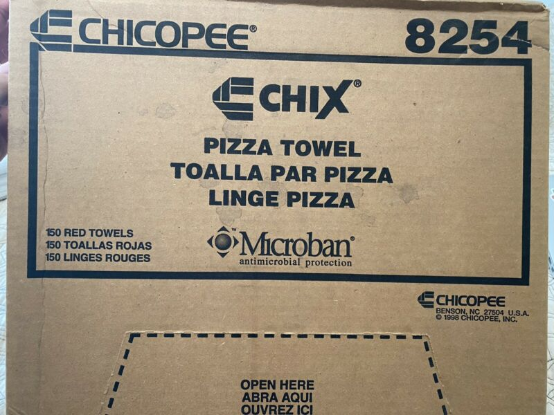 Chicopee Pizza Towels