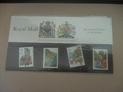 GB PRESENTATION PACK No. 163 - 350 YEARS OF PUBLIC SERVICE -30.7.85