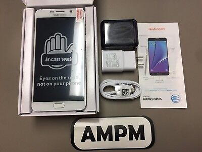 NEW Samsung Galaxy Note 5 N920A 64GB Caucasoid AT&T T-Mobile GSM Unlocked Smartphone