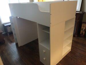 Kids' bed / desk / shelf - combo