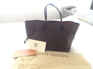 1cf5b78f043 Authentic Louis Vuitton NEVERFULL GM with receipt   Bags   Gumtree ...