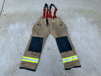 Morning Pride Turnout Pants W Eagle Suspenders. Size 40x34. Model No. Bpr3232pz