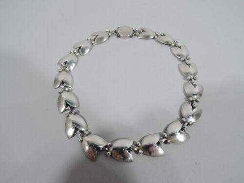 Georg Jensen Tulip Necklace - 66 - Harald Nielsen - Danish Sterling Silver