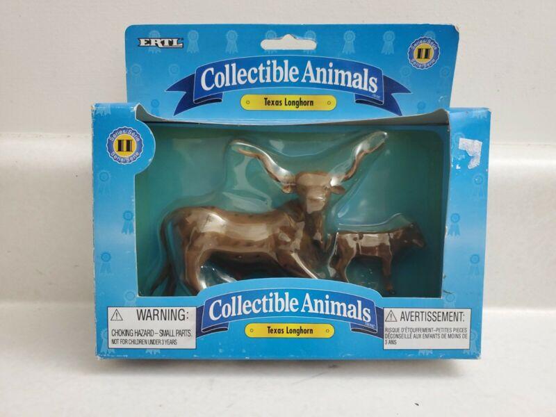 Collectible Animals Texas Longhorn ERTL
