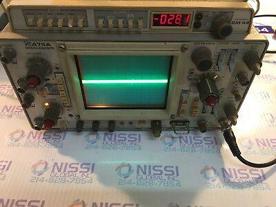 Tektronix 475a Dm44 250mhz 2ch Oscilloscope