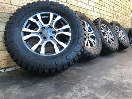 Ford Ranger 33 Inch Toyo Mud Tyres Alloy Rims 18 Inch Sale Tnp