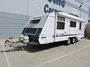 "2009 Supreme Executive Tourer 19'6"" Caravan Craigieburn Hume Area Preview"