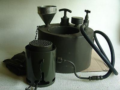 Dieselkocher PS-1 Petroleum / Diesel Kocher Originale Militärware Lagerware.
