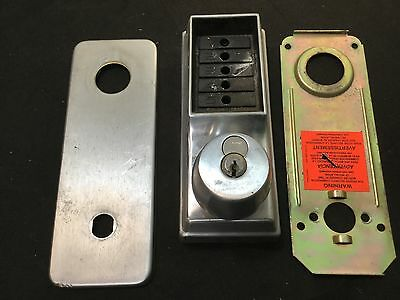 Kaba Simplex 1000 Series Pushbutton Lock Knob Corbin Russwin Cylinder-locksmith