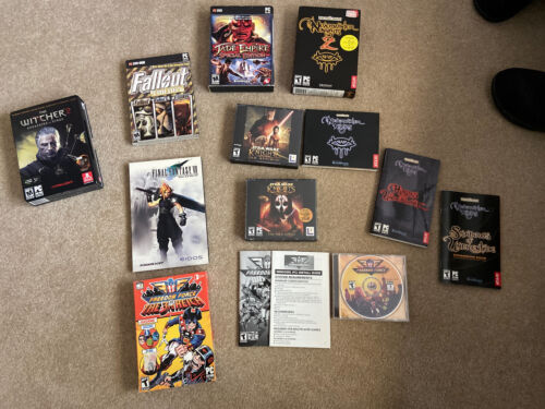Computer Games - Lot Of Rpg Style Computer Games. Kotor, Ff7 And Others