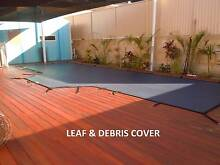 Pool or pond covers, safety nets & solar blankets Perth. Aqua-Net North Fremantle Fremantle Area Preview