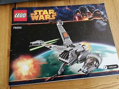 LEGO Star Wars B wing 75050 boxed with instructions