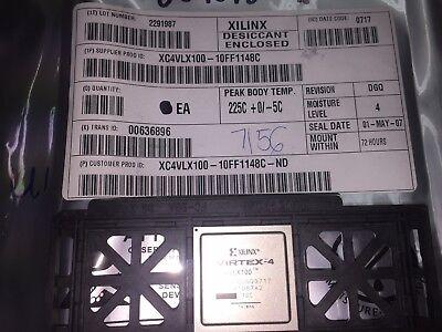 1 Piece Xc4vlx100-10ff1148c Xilinx Ic Fpga 768 Io 1148fcbga
